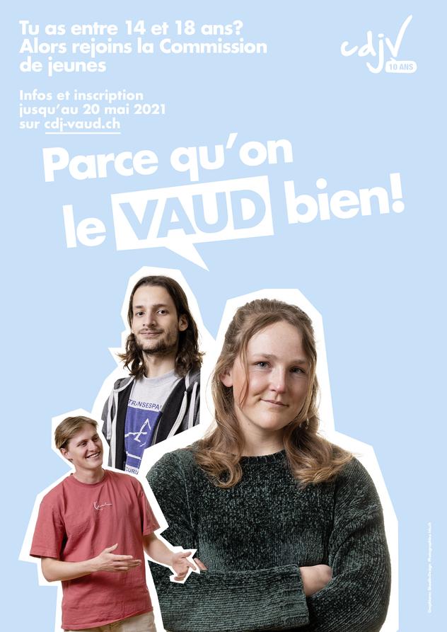 Commission des jeunes Parce qu\'on le Vaud bien